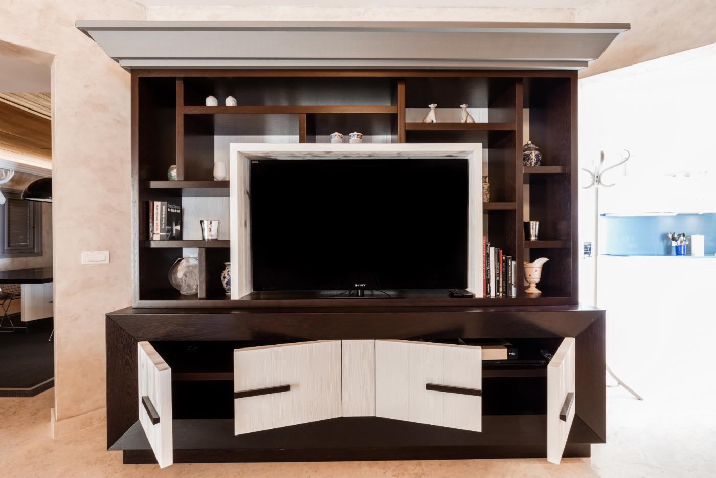 Gaylord Dessomme Atelier D Ebenisterie St Barth Meuble Tv  # Table De Televiseur